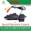 HD CCD автомобильная камера заднего вида Багажника ручка камера парковки Для Audi A4 8 К A5 S5 8 Т Q5 Porsche Cayenne Ночного видения цвета водонепроницаемый