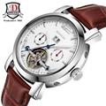 BINKADA marca 2017 venta caliente Hombres Mismo-Viento Automático relojes Mecánicos 30 m reloj de buceo deporte de los hombres de moda casual relojes de pulsera