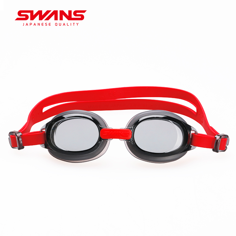 Swans Colorful Adjustable Children Kids Waterproof Silicone Anti Fog Shield Swimming Glasses Goggles Eyewear Eyeglasses with