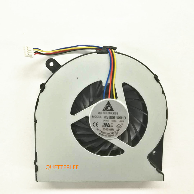 New Laptop CPU Cooling Cooler Fan Fit For Toshiba C850 C855 C870 C875 L850 L870 L850D L870D 4 Pin Conntector Best Price image