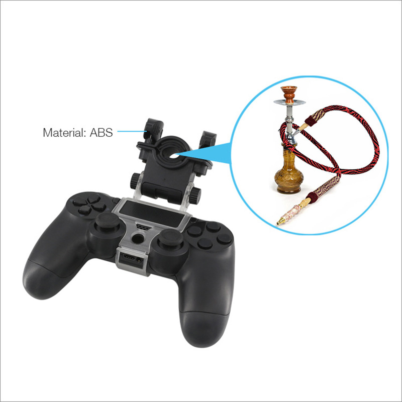 Shisha Hose Holder Aluminum Handle Holder Suit For PS4/Slim/Pro Game Controller Chicha Narguile Water Smoking Accessories