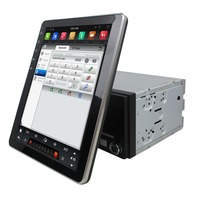 Universal 9.7 1024*768 2 Din Tesla Type Android 7.1 Car DVD Multimedia player GPS Navigation Auto radio dvd player