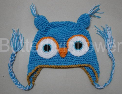Cute Baby Owl Hat Fashion Style Baby Caps Owl Crochet Hat Baby Hat