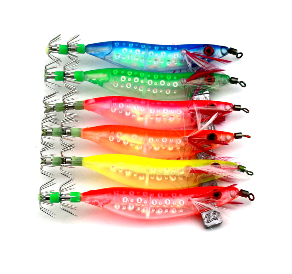 Venda quente 30 pcs Squid Jig Isca