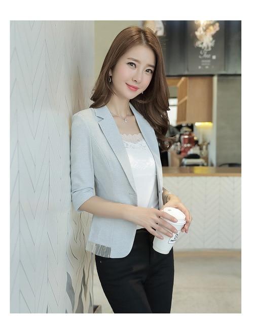 Brief Linen Suit Woman...
