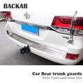 Задний бампер для автомобиля Toyota Land Cruiser 2014  аксессуары  накладка на дверь багажника  защита от столкновений  1 шт.