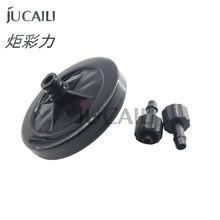 Jucaili – filtre à jet d'encre pour imprimante uv, grand disque de 45mm, pour Spectra Konica Ricoh, tête d'impression Gongzheng Zhongye, 10 pièces