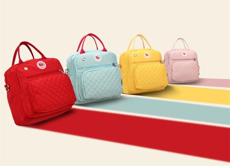 HTB1veCcc6gy uJjSZKzq6z jXXaG Mom Diaper Bag Waterproof Nylon Baby Nappy Bag Women Travel Backpakc for Baby Nursing Maternity Bag bolsa maternidade 4 Colors