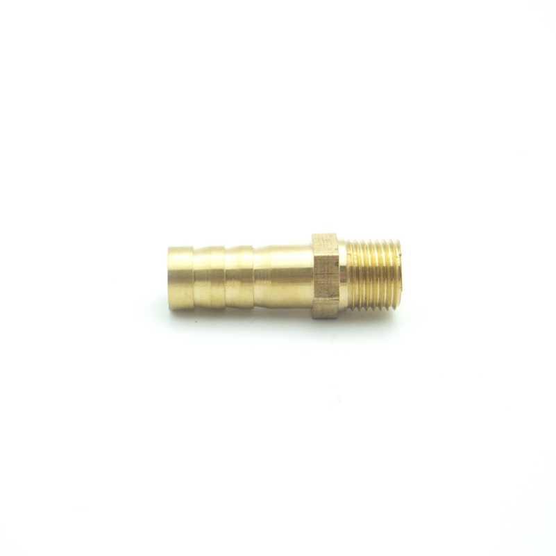 8 Mm OD Selang Duri X M8x1.25 Benang Metrik Male Kuningan Berduri Pipa Fitting Coupler Konektor Adaptor Splicer untuk Pemakaian air Gas