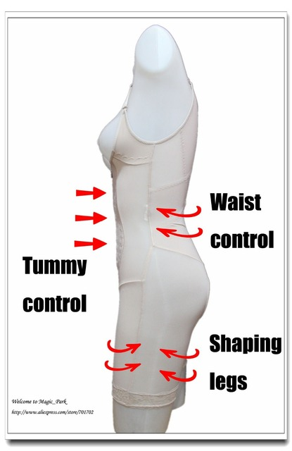 Underbust Seamless Thin Magic Full Body Shapers for Women Legs Waist Control Shapers Bodysuits Crotchless Shapewear Body Shapers