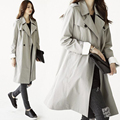 2016 New Spring Autumn Fashion/Casual Women's Trench Coat long Outerwear loose Clothes For Lady Good Quality
