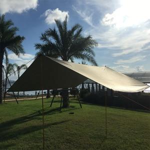 Image 3 - פרגולות סוכך מקלט שמש החוף חיצוני קמפינג גן שמש סוכך חופה שמשייה ערסל גשם לטוס רזנט עמיד למים אוהל צל