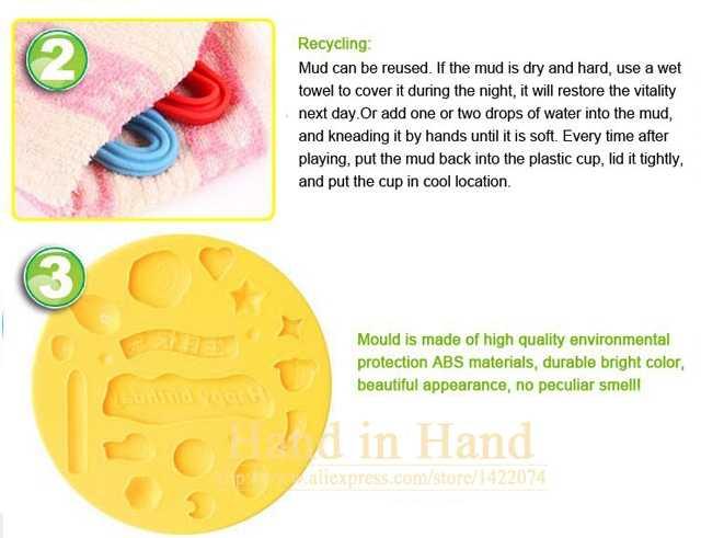 Детские игрушки Пластилин модель инструмент красочный креативный набор для мороженого малыш Brinquedos безопасный экологический Мягкий полимерный игровой Juguetes