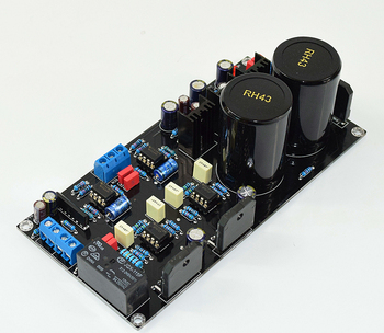 LM3886 HIFI high power amplifier, OP07 DC servo 5534 independent operational amplifier 076.