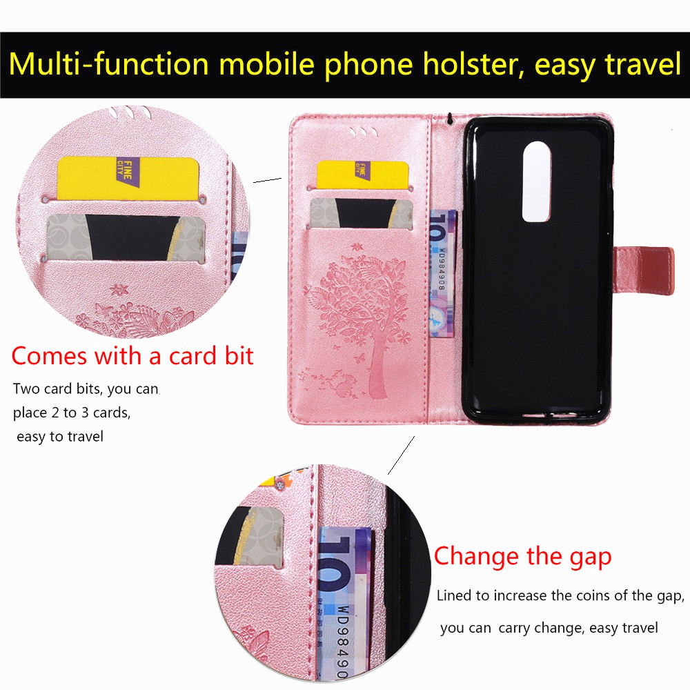 Luxury PU Leather Wallet Phone Cases For HTC U11 Flip Cover For HTC M8 M9 Card Slot Stand Bags Magnetic Fundas For HTC 825 C830 in Wallet Cases from Cellphones Telecommunications
