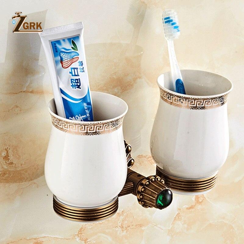 Zgrk new antique solid brass bath hardware sets polished - Solid brass bathroom accessories ...