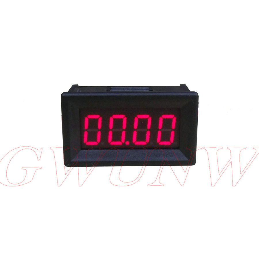 Digit Ammeter Current Panel Meter 0.36 Inch 4 Bit Led 50a Charitable Gwunw By436ak1 0-50.00a