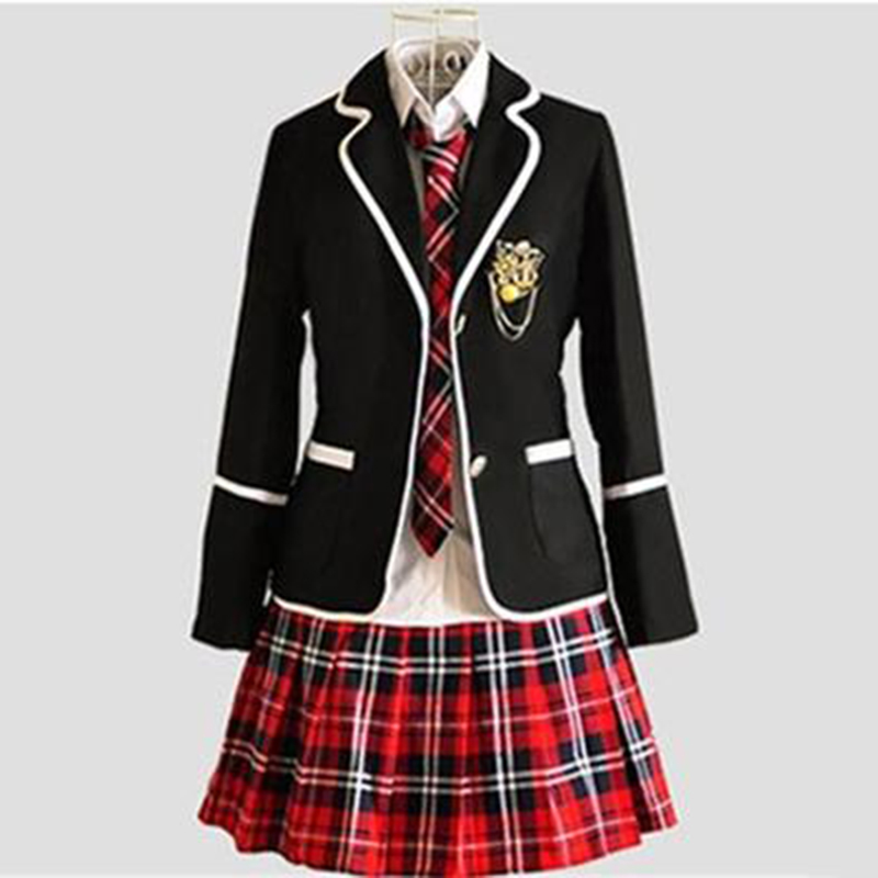 2019 New School Uniform Set College Wind School Children Japan JK England Class Suit JK Student School Uniform Suit