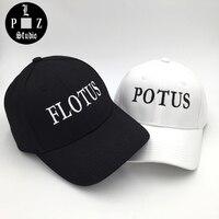 2017恋人カップル帽子potus flotus野球キャップ社長ファーストレディーのユナイテッド状態帽子用女性男性黒綿カスタム帽