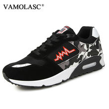 VAMOLASC New Men's Comfortable Sport Running Shoes Breathable Lightweight Camouflage Outdoor Sneakers