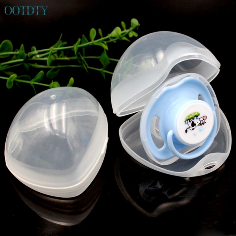 1pc Portable Baby Nipple Box Boy Girl Infant Pacifier Cradle Case Holder Soother Box #330