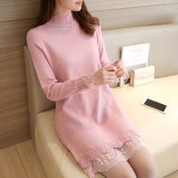 4100 Film Winter In The New Long Half Tall Hollow Lace Collar 10 Rows 1 54
