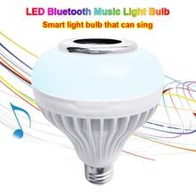 Speaker Bulb Music-Playing Bluetooth Smart Led Light--M25 Wireless-Lamp 12W RGB Indoor