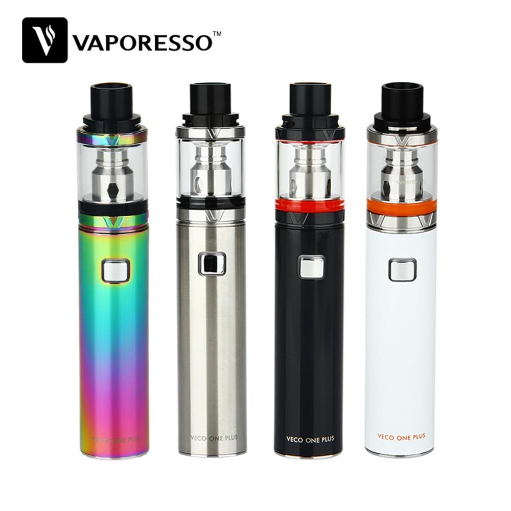Original Vaporesso VECO ONE Plus Vape Kit con 4 ml VECO Plus tanque incorporado 3300 mAh batería estilo pluma vaporizador Kit de cigarrillo electrónico