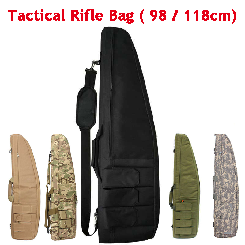 Military Rifle Case 98cm 118cm Hunting Rifle Gun Airsoft Air Gun Single Shoulder Bags With Cushion Padded Protection Carry BagMilitary Rifle Case 98cm 118cm Hunting Rifle Gun Airsoft Air Gun Single Shoulder Bags With Cushion Padded Protection Carry Bag