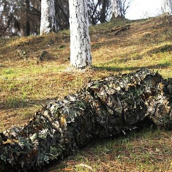 3d camo hunting ghillie suit bionic leaf poncho hi