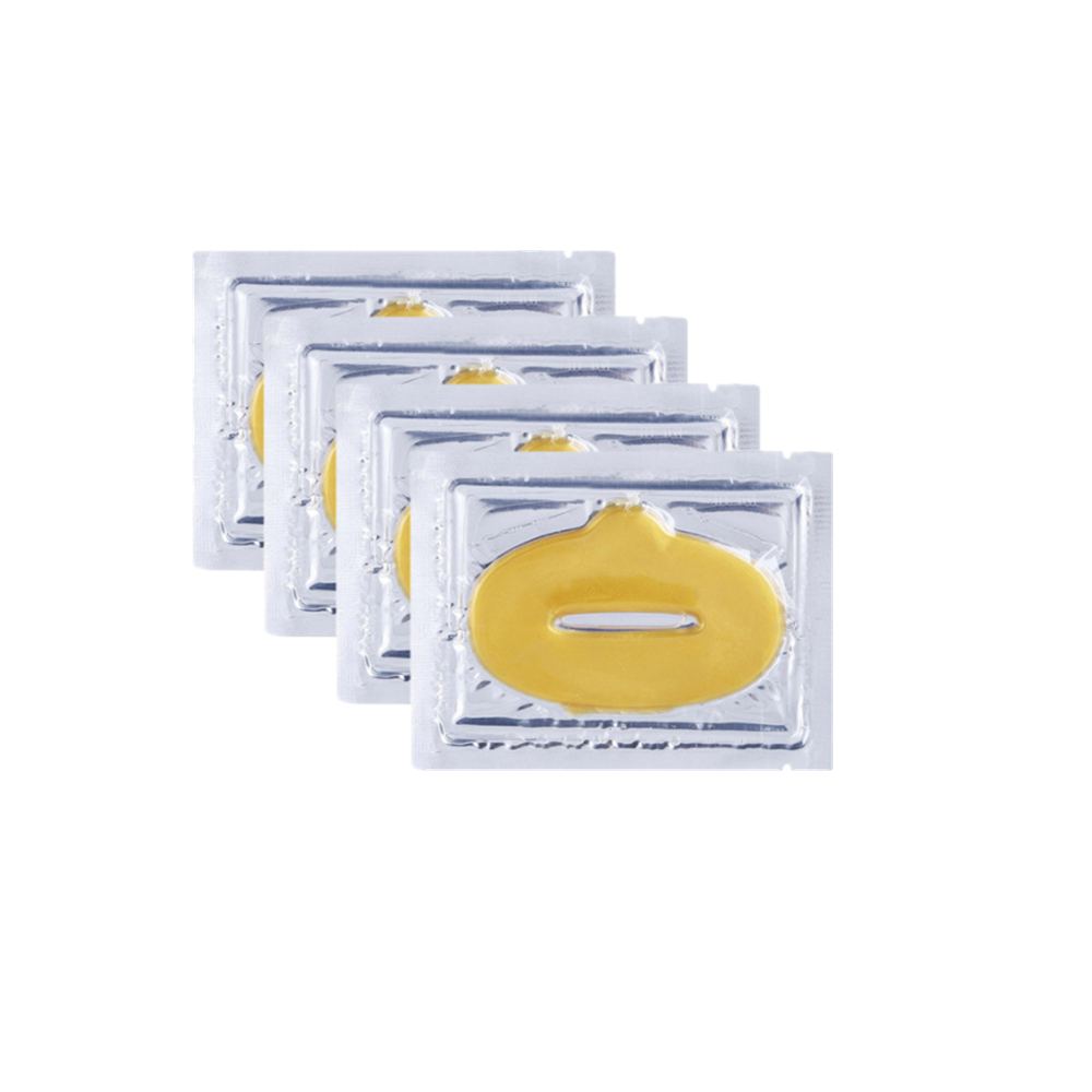 DISAAR 1 bag Gold Collagen Lip Mask Moisturizer Nourish Essence Patches for lips Anti Ageing Wrinkle