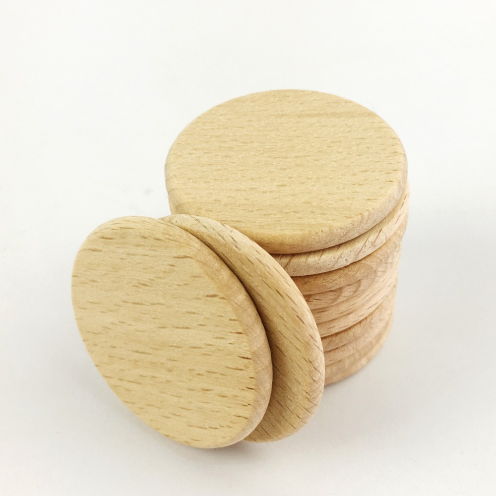 Wooden circles for crafts - Wood Discs For Crafts Aliexpress Com Buy Pinjeas 120 37mm Unfinished Wood Discs Circles Beech