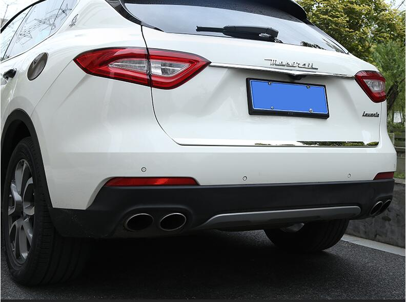 Car Rear Tail Door Trunk Lid Molding Cover Trim FOR Maserati Levante 2016 2017