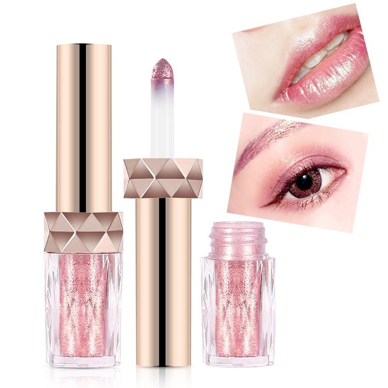 Fashion 2017 Mermaid Gold Color Glitter Lip Gloss ...