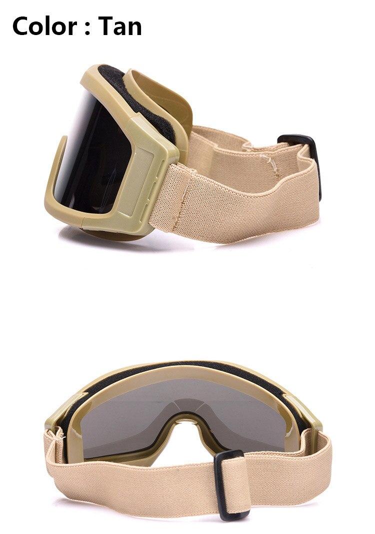 Óculos de proteção tático óculos de sol