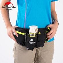 Naturehike Factory Store Men Women Sports Waist Bag Water Bottle Belt Bag Running Hiking Cycling phone waterproof Waist bags