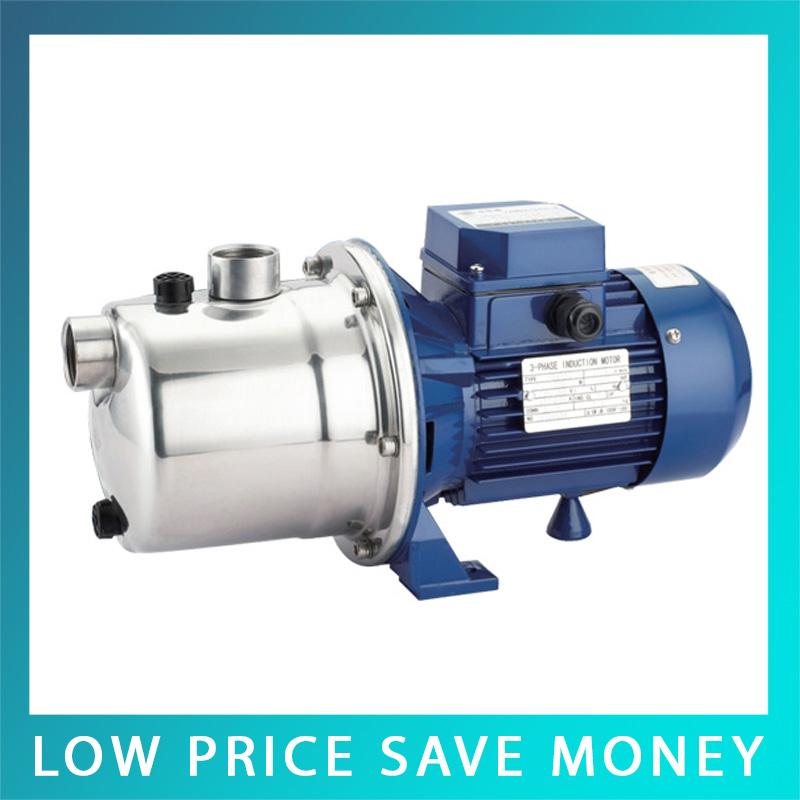 SZ037D 0.5hp Stainless Steel Jet Pump Domestic Water Pump Self Suction Centrifugal Booster Pressure 220V Water Jet Pump sz037d 0 5hp stainless steel jet pump domestic water pump self suction centrifugal booster pressure 220v water jet pump