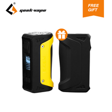 2018 New GeekVape Aegis Box MOD 100W with gift Silicone Case 18650 26650 Battery for E