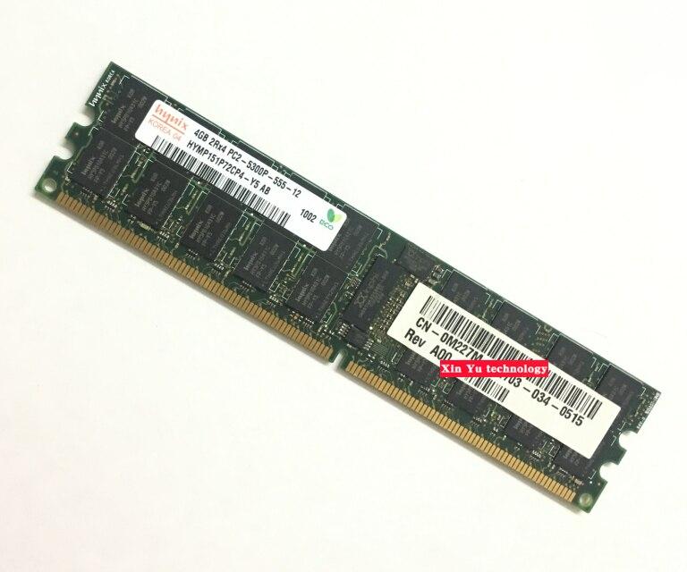 For Hynix 4GB 8GB DDR2 667MHz PC2-5300P 2Rx4 REG ECC Server memory RAM Lifetime warranty