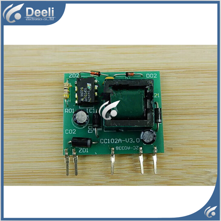 95% new good working for Hualing air conditioning motherboard pc board power supply module CC102A - V3.0 on sale power supply for pwr 7200 ac 34 0687 01 7206vxr 7204vxr original 95%new well tested working one year warranty
