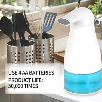 Automatische Seife Spender Hand Freies Touch Badezimmer Dispenser Smart Sensor Flüssigkeit Seife Dispenser Für Küche