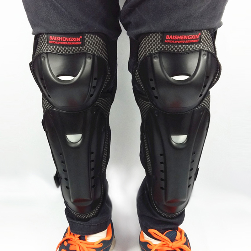 4pc/s Motorcycle knee & elbow protective pads Motocross skating knee protectors riding protective Gears pads protection 4