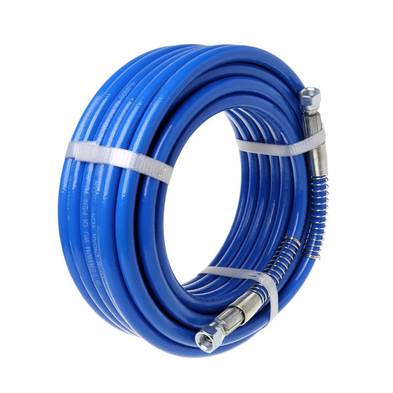 15m Airless Paint Spray Hose Tube Pipe 5000PSI Sprayer Fiber For Sprayer Gun New 77UC-in Spray Guns from Tools on