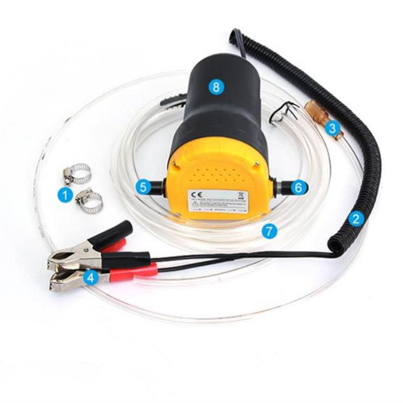 12V/24V car oil change pump performance corrosion resistance no leakage power 60W