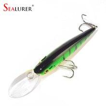 1PCS Quality 10 Colors 11cm 10.5g Isca Artificial Hard Bait Pesca Minnow Fishing lures wobbler crankbait 6# hook 3D eyes YE-73X