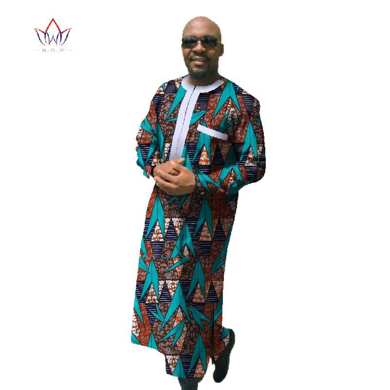 2017 Afrički tisak Dashiki za muškarce Plus veličine afričke - Nacionalna odjeća - Foto 5