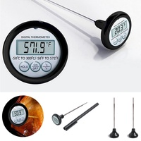 Mutfak dijital gıda termometre et kek şeker kızartma gıda izgara barbekü yemek termometre ev pişirme için