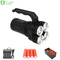 50XPowerful LED flashlight LEDS linterna lights lampe torche led bicycle light U2 5000LM Aluminum Waterproof Zoomable flashlight