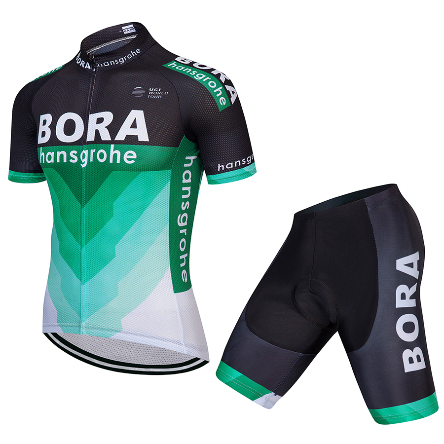 2018 Summer Short Sleeve Bora Cycling Jersey Set Mountain Bike Clothing Breathable Bicycle Clothes Maillot Ropa Ciclismo x tiger brand pro summer cycling set bicycle jerseys breathable short sleeve mountain bike clothing 2017 maillot ropa ciclismo