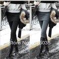 Das Mulheres livres do Transporte Saia Pants Saias com Leggings Inverno Quente calças Leggings Moda Estiramento Calças Para As Mulheres 3 cores